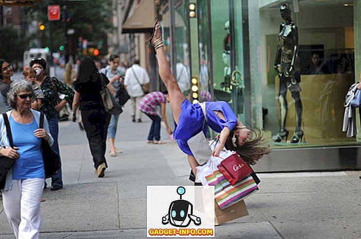 Tänzer, die ihre täglichen Sachen auf ihre eigene Art machen (Bilder)