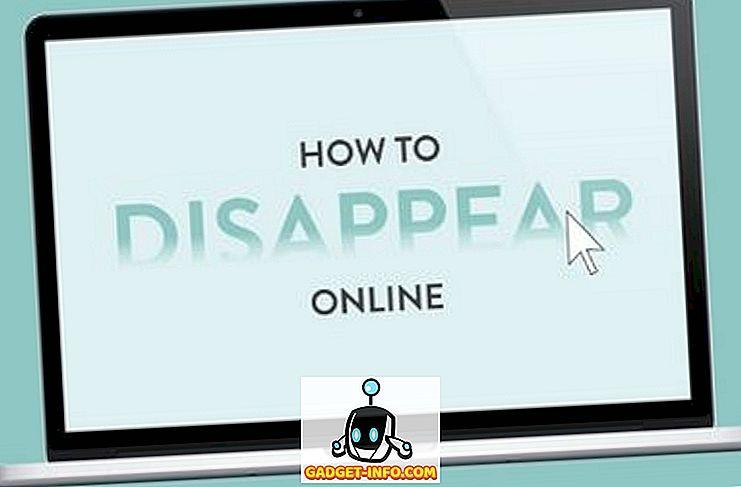тек - Направете себе си изчезват онлайн напълно в само 9 стъпки # Инфографика