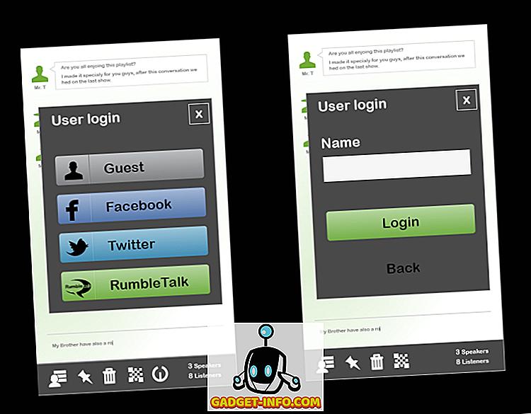 Přidat dynamický úhel na vaše stránky integrací Rumbletalk sociální chat místnosti