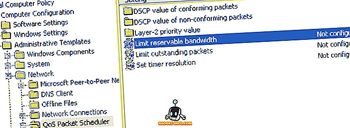 Kuidas piirata reserveeritavat ribalaiust Windowsis