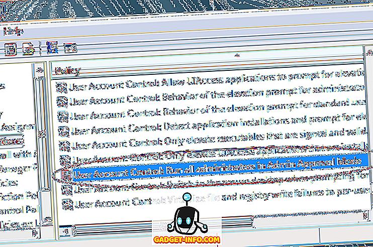 Dezactivați modul de aprobare a administrării în Windows 7