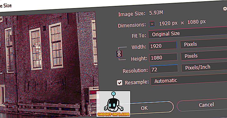 Како смањити величину на сликовној датотеци