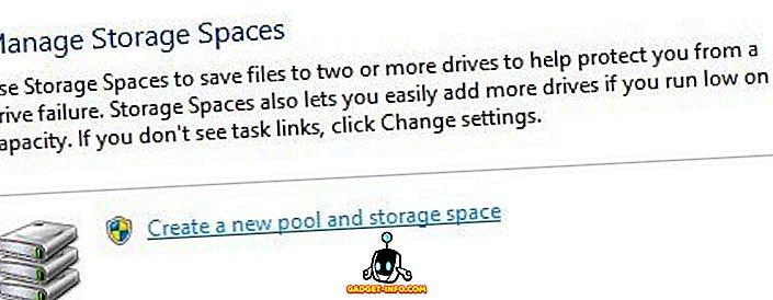 Tạo sao lưu dữ liệu giống như RAID bằng cách sử dụng không gian lưu trữ trên Windows 10