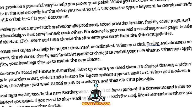 สร้างข้อความสุ่มหรือ Lorem Ipsum Text ใน MS Word
