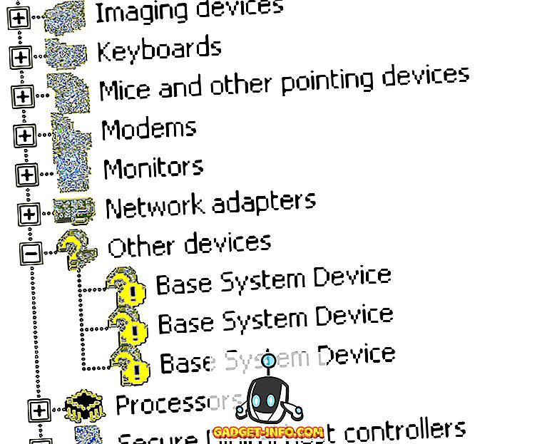 Fenster helfen - Fixes Basissystemgerät im Geräte-Manager nicht gefunden