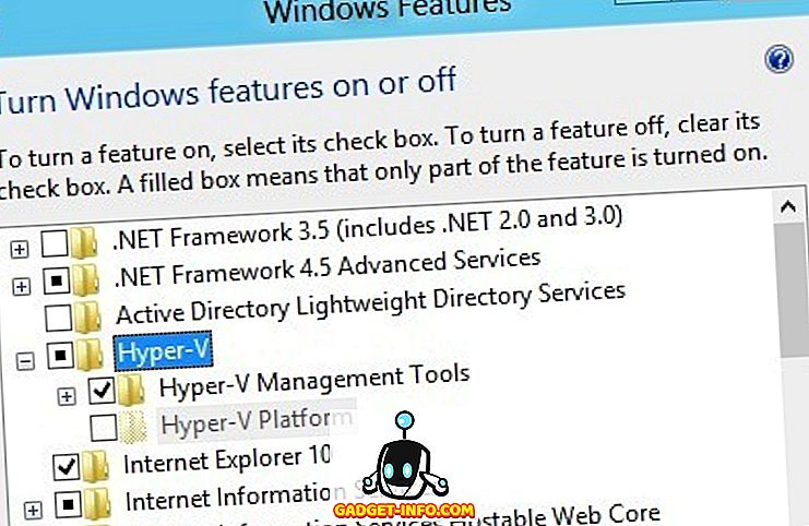 Aktivér Windows 10 Hyper-V