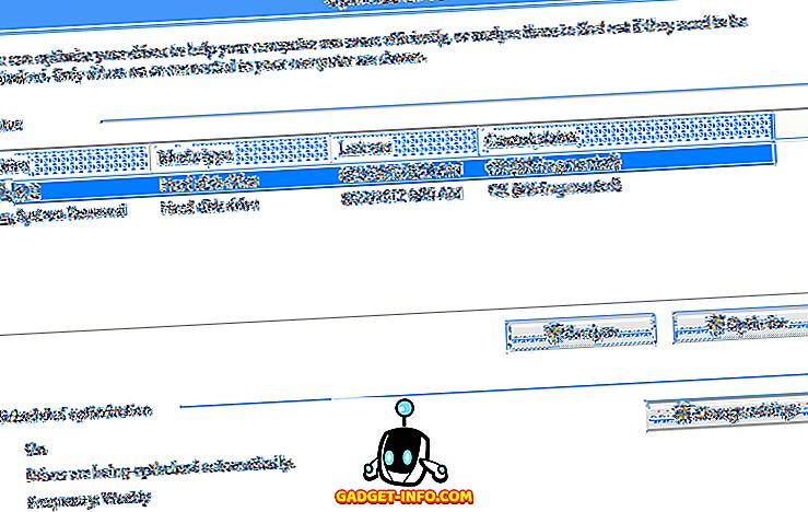 ماذا حدث لإلغاء تجزئة القرص في نظام التشغيل Windows 8/10؟