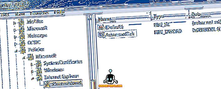 Comment désactiver / activer les onglets Options Internet dans IE