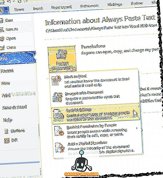 Kako ograničiti uređivanje na Word dokumentima