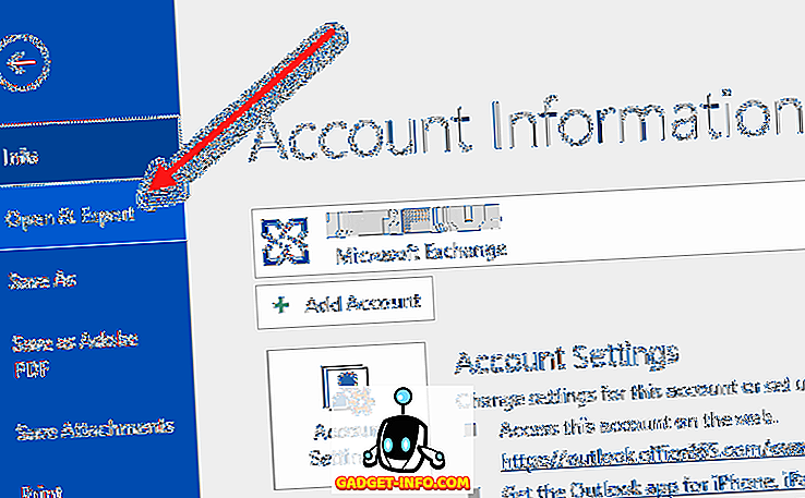 Kako izvesti e-poštu iz programa Microsoft Outlook u CSV ili PST