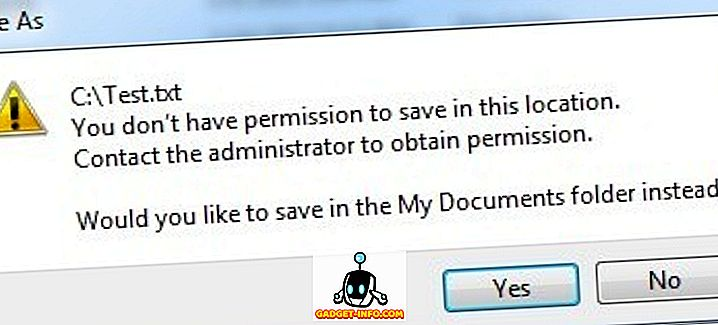 Pokreni Notepad kao Administrator za izbjegavanje pristupa je odbijen