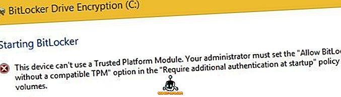 """Fix """"Dieses Gerät kann kein vertrauenswürdiges Plattformmodul verwenden"""" beim Aktivieren von BitLocker"""