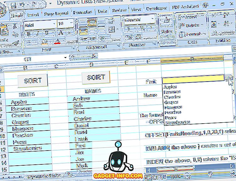 Gunakan Nama Julat Dinamik dalam Excel untuk Dropdowns Fleksibel