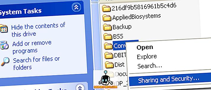 Какво е просто споделяне на файлове и как да го изключите