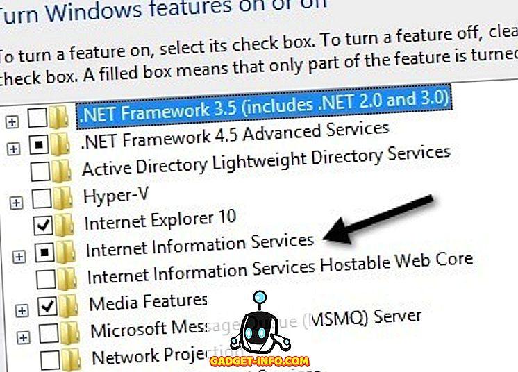 ติดตั้งและตั้งค่าเว็บไซต์ใน IIS บน Windows 10