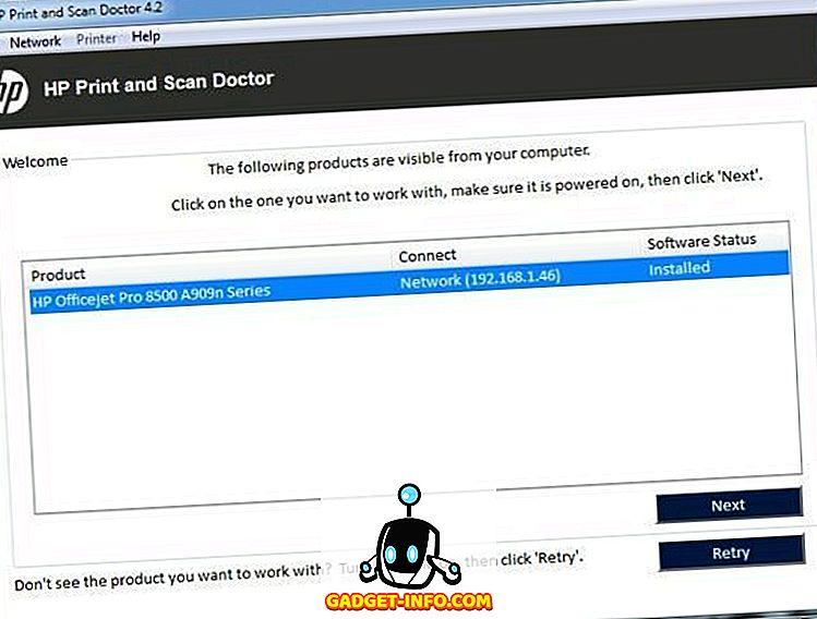 استخدم HP Print و Scan Doctor لإصلاح مشكلات الطابعة الشائعة