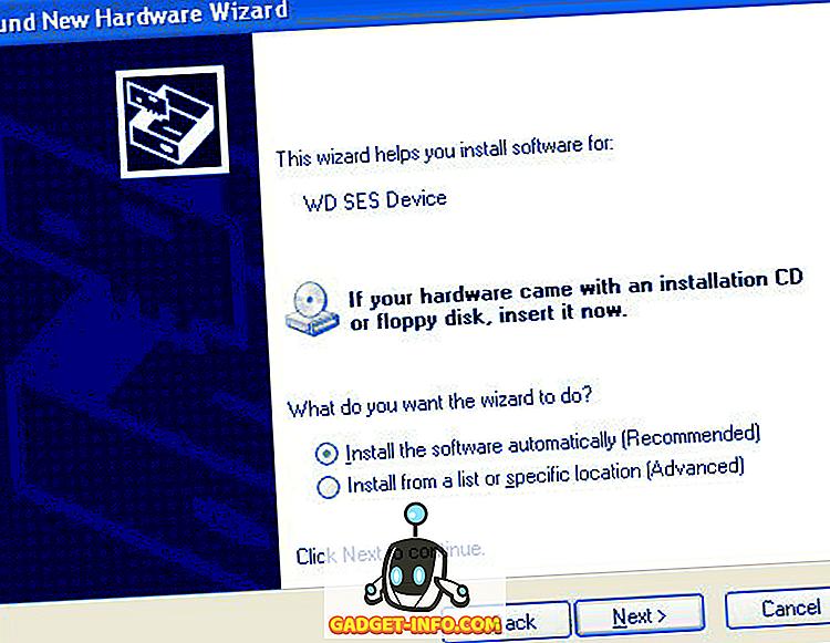 Kan ikke starte Windows med ekstern harddisk vedhæftet?
